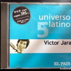 CDs de Música: VICTOR JARA UNIVERSO LATINO EL PAÍS. Lote 136461722