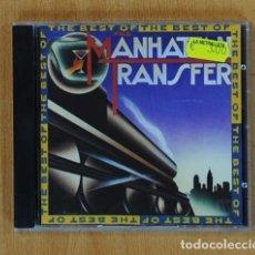 CDs de Música: MANHATTAN TRANSFER - THE BEST OF - CD. Lote 136463752
