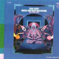 CDs de Música: TONY SCOTT - MUSIC FOR YOGA MEDITATION AND OTHER JOYS - CD ALBUM - 9 TRACKS - POLYGRAM RECORDS 1998. Lote 136464474