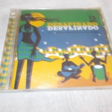 CDs de Música: DESAFINADO 2 CLASICOS INOLVIDBLES DE BRASIL 2 CD'S. Lote 136506618