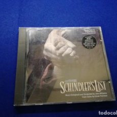 CDs de Música: JOHN WILLIAMS SCHINDLER'S LIST (MUSIC FROM THE ORIGINAL MOTION PICTURE SOUNDTRACK CD . Lote 136599710