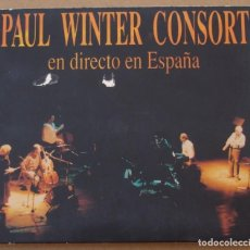 CDs de Música: PAUL WINTER CONSORT - DIRECTO EN ESPAÑA (CD DIGIPACK) 1993 - 12 TEMAS. Lote 136612514
