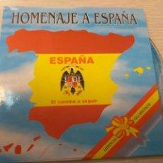 CDs de Música: CD MUSICA HOMENAJE A ESPAÑA. Lote 136620346