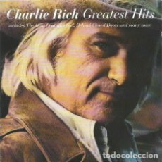 CDs de Música: CHARLIE RICH – GREATEST HITS CD 1993. Lote 136653262