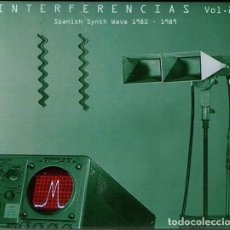 CDs de Música: VARIOUS - INTERFERENCIAS VOL. 2 - SPANISH SYNTH WAVE 1980-1989. Lote 136667294