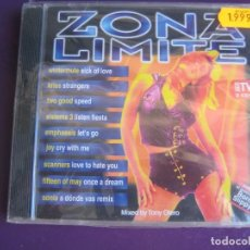 CDs de Música: ZONA LIMITE DOBLE CD BIT MUSIC 1996 - PRECINTADO - MAKINA - TECHNO - ELECTRONICA. Lote 136670298