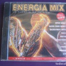 CDs de Música - ENERGIA MIX - LA ENERGIA DE TU VIDA DOBLE CD VIRGIN 1997 - ELECTRONICA TECHNO MAKINA HOUSE - 136670786