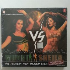 CDs de Música: BOLLYWOOD STYLE - MINNI US SHEILA - THE HOTTEST ITEM SONGS EVER - PRECINTADO. Lote 136690382