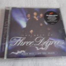CDs de Música: THE THREE DEGREES THE BEST OF (WHEN WILL I SEE YOU AGAIN). Lote 136704254
