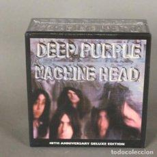 CDs de Música: DEEP PURPLE - MACHINE HEAD. EDICIÓN LIMITADA ORIGINAL CERRADO SIN USAR. CD BOX 2012 (BRD). Lote 136708710