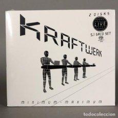 CDs de Música: MUY RARO !!!!. KRAFTWERK - MINIMUM MAXIMUM. EDICIÓN LIMITADA CERRADO SIN USAR SACD 2005 (BRD). Lote 136709066