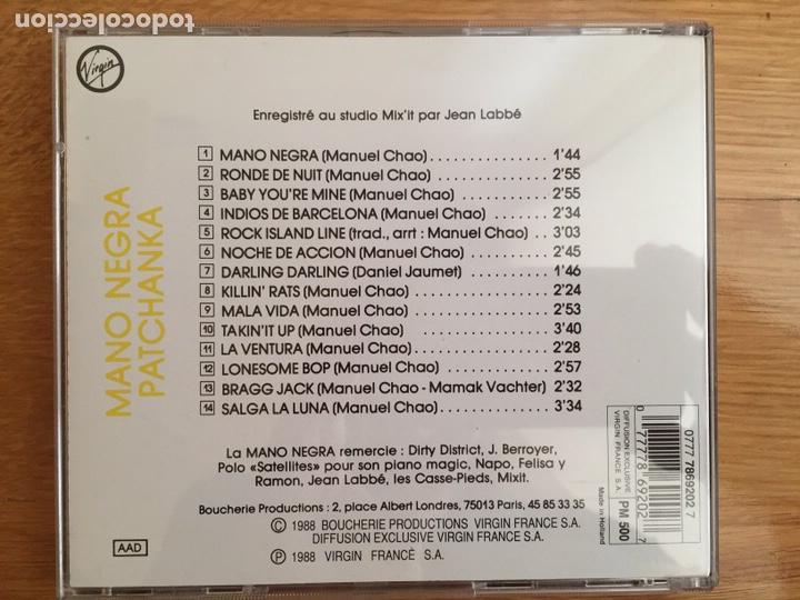CDs de Música: MANO NEGRA: PATCHANKA - Foto 2 - 136715281