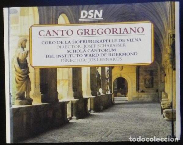 CANTO GREGORIANO 4 CDS (Música - CD's Otros Estilos)