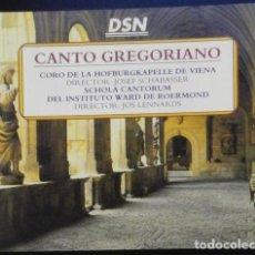 CDs de Música: CANTO GREGORIANO 4 CDS. Lote 136740478
