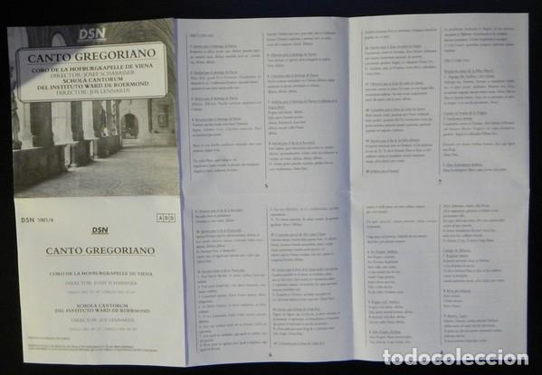 CDs de Música: CANTO GREGORIANO 4 cds - Foto 3 - 136740478