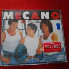 CDs de Música: CD-DOBLE-MECANO-20 GRANDES CANCIONES-CBS-1989-BUEN ESTADO VER FOTOS. Lote 136747274
