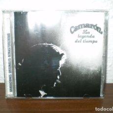 CDs de Música: CD CAMARON LA LEYENDA DEL TIEMPO EDICIÓN REMASTERIZADA. Lote 136747586