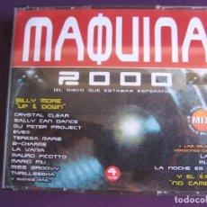 CDs de Música: MAQUINA 2000 4 CDS TEMPO HOUSE HARDCORE MAKINA TECHNO PROGRESSIVE. Lote 136754826