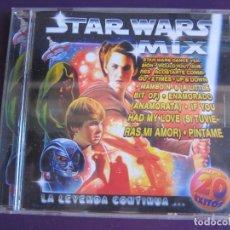 CDs de Musique: STAR WARS MIX - CD 20 EXITOS HOUSE DANCE TECHNO . Lote 136756330