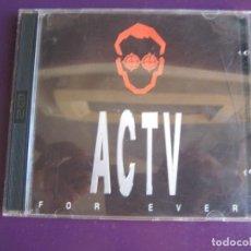 CDs de Música: ACTV FOR EVER 2 CDS 1996 CONTRASEÑA RECORDS - TRANCE TECHNO HOUSE. Lote 136756646