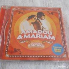 CDs de Música: AMADOU & MARIAM DIMANCHE A BAMAKO. Lote 136757550