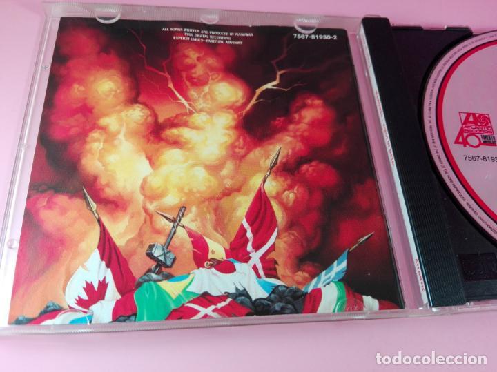 CDs de Música: CD-MANOWAR-KINGS OF METAL-1988-10 TEMAS-VER FOTOS - Foto 4 - 136764682