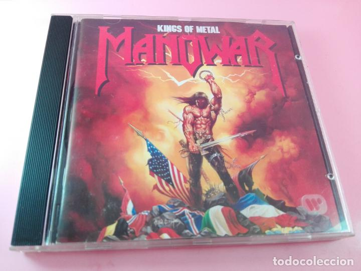 CDs de Música: CD-MANOWAR-KINGS OF METAL-1988-10 TEMAS-VER FOTOS - Foto 7 - 136764682