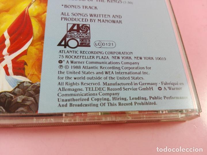 CDs de Música: CD-MANOWAR-KINGS OF METAL-1988-10 TEMAS-VER FOTOS - Foto 8 - 136764682