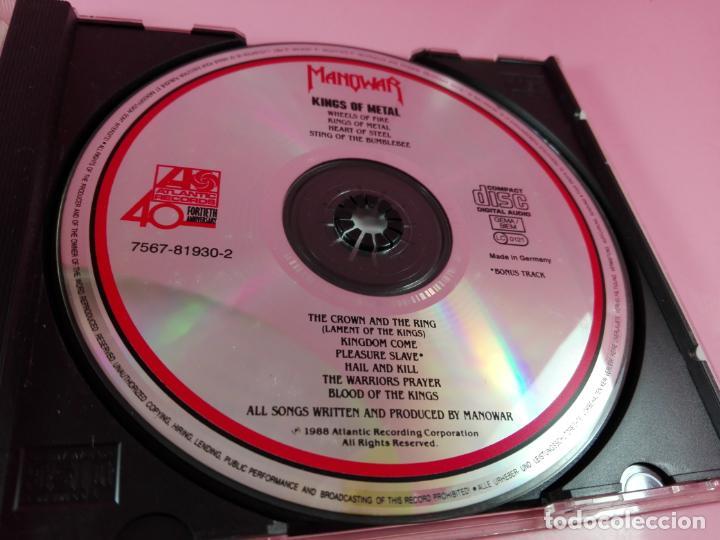 CDs de Música: CD-MANOWAR-KINGS OF METAL-1988-10 TEMAS-VER FOTOS - Foto 9 - 136764682