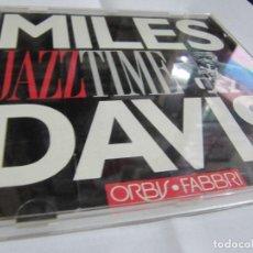 CDs de Música: MILES DAVIS - JAZZ TIME. Lote 136765430