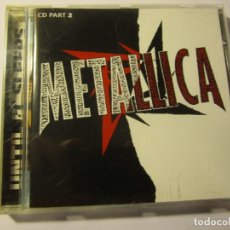 CDs de Música: CD METALLICA CD PART 2 UNTIL IT SLEEPS AÑO 1996. Lote 136771342