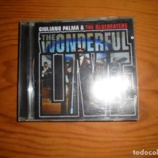 CDs de Música: GIULIANO PALMA & THE BLUEBEATERS. THE WONDERFUL LIVE. V2, 2001. EDT. ITALIA. CD. IMPECABLE. (#). Lote 136785018