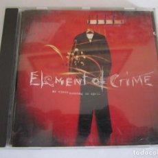 CDs de Música: CD ELEMENT OF CRIME AN EINEM SONNTAG IN APRIL AÑO 1994. Lote 136813370