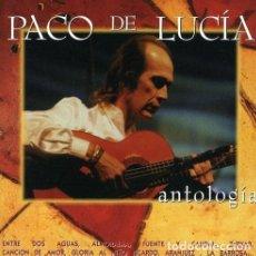 CDs de Música: PACO DE LUCÍA - ANTOLOGÍA - 2XCD. Lote 136813986