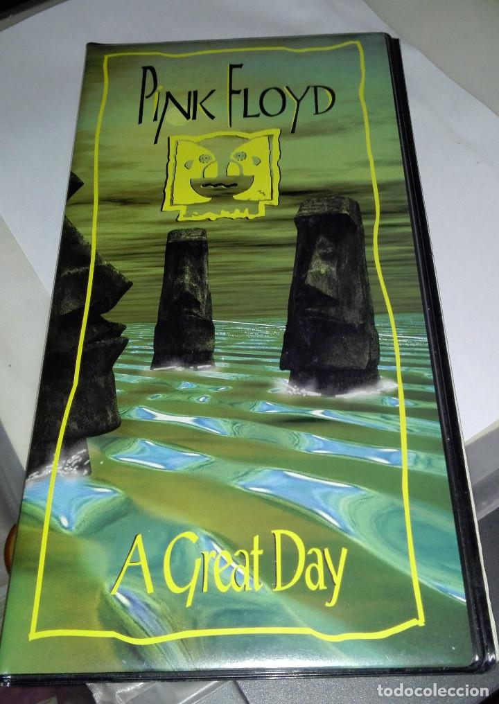 PINK FLOYD-A GREAT DAY-PACK ALARGADO IDONEO 2 CD'S +LIBRETO-GIRA AMERICANA 1994 segunda mano