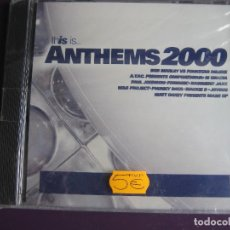 CDs de Música: THIS IS ANTHEMS 2000 CD - HOUSE TECHNO GARAGE TRANCE. Lote 136857978