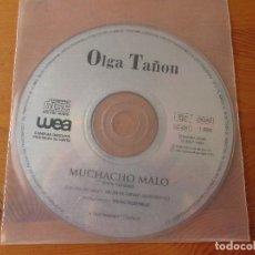 CDs de Música: OLGA TAÑON MUCHACHO MALO CD SINGLE PROMOCIONAL WEA 1994. Lote 136889598