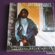 CDs de Música: ANTONIO FLORES 2 CD + DVD SONY 2005 - LA LEYENDA DE UN ARTISTA - SABINA SERRAT ANTONIO VEGA ROSENDO. Lote 136894094