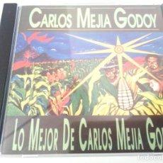 CDs de Música: CARLOS MEJIA GODOY - LO MEJOR / CD / CBS / 1994 / SIN CODIGO DE BARRAS / BUEN ESTADO. Lote 136952630