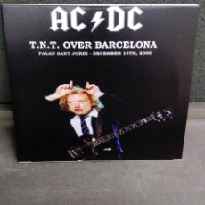 CDs de Música: AC/DC-T.N.T.OVER BARCELONA 2000-2 CD'S-FANS CLUB-LIMITED EDITION. Lote 137115426