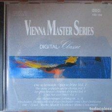 CDs de Música: THE MOST POPULAR OPERA CHORUS VOL. 1 & VOL.2 - RUNDFUNK-SINFONIE ORCHESTER AND CHOR LJUBLJANA. 2 CD. Lote 137128526