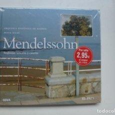 CDs de Música: MENDELSSOHN. SINFONÍAS TERCERA Y CUARTA. ORQUESTA SINFÓNICA DE MADRID. CD LIBRO Nº 7. PRECINTADO.. Lote 137128642