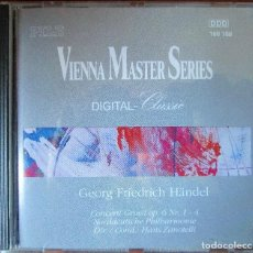 CDs de Música: HÄNDEL - CONCERTO GROSSI OP. 6 NºS 1, 2, 3 & 4. NORDDEUTSCHE PHILHARMONIE. COND. HANS ZANOTELLI. CD. Lote 137128858