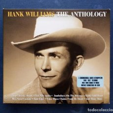 CDs de Música: CD TRIPLE HANK WILLIAMS - THE ANTHOLOGY. . Lote 137139490