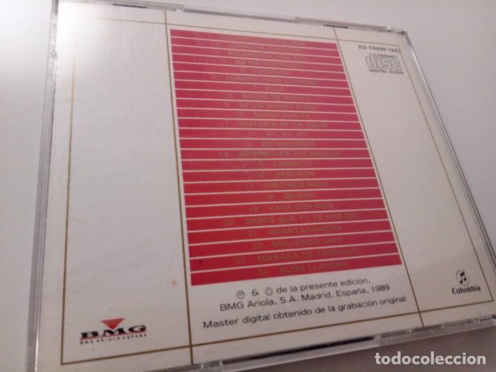 CDs de Música: JULIO IGLESIAS - 24 GRANDES EXITOS LATINOS / CD / BMG-ARIOLA / 1989 / BUEN ESTADO - Foto 2 - 137148910