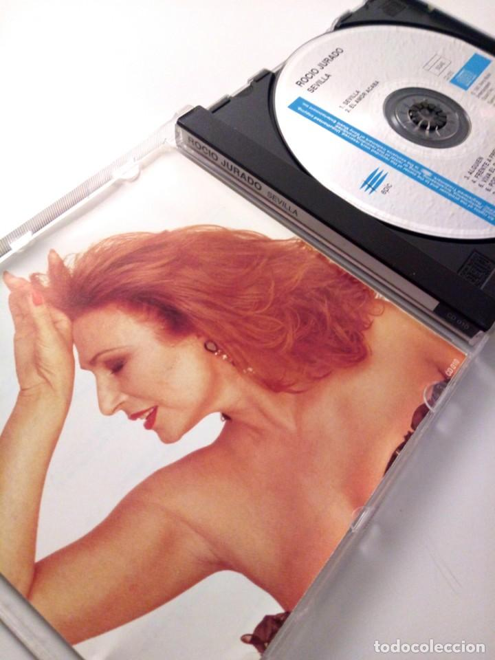 CDs de Música: ROCIO JURADO - SEVILLA / CD / 1991 / VERSION SIN CODIGO DE BARRAS / CERCA DE NUEVO - Foto 3 - 137153398
