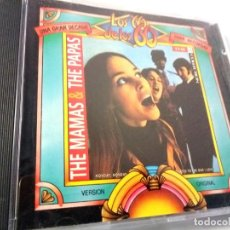 CDs de Música: THE MAMAS & THE PAPAS - LOS 60 DE LOS 60 / CD / !!! PROMO 4X3 !!!. Lote 137163590