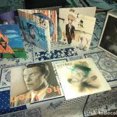 CDs de Música: DAVID BOWIE OUTSIDE / EARTHLING / HOURS / HEATHEN / REALITY 10 CD BOX MINI LP . Lote 137167398
