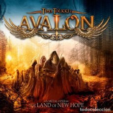 CDs de Música: TIMO TOLKKI ´S AVALON THE LAND OF NEW HOPE CD + DVD DELUXE EDITION. STRATOVARIUS. Lote 137173454