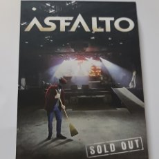CDs de Música: ASFALTO - SOLD OUT - DIRECTO - 2CD + DVD - TDKV15. Lote 137174490